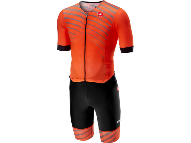 Castelli Free Sanremo SS Suit Herrer, orange